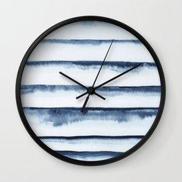 Indigo horizons Wall Clock