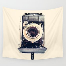 Vintage Kodak Monitor Six-20 Film Camera 1948-1951 Wall Tapestry