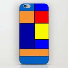 Mondrian #2 iPhone Skin