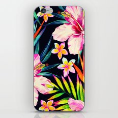 tropical wild 2 iPhone Skin