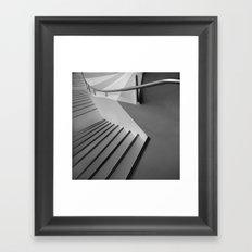 weight flow Framed Art Print