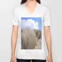 dune V-neck T-shirts featuring Dune 2  by  Agostino Lo Coco