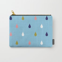 Happy rain drops Carry-All Pouch