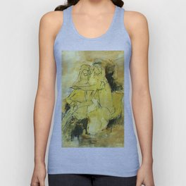 Couple watching Unisex Tank Top