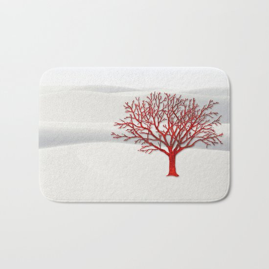 Coral Tree Fantasy 2 Bath Mat