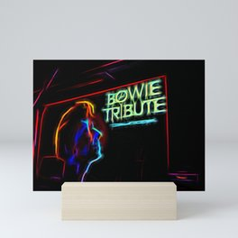 Bowie Tribute Mini Art Print