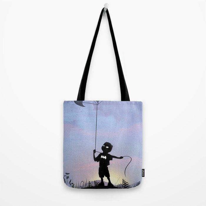 Bat Kid Tote Bag