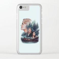 The Charming Family Clear iPhone Case