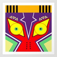 majora Art Prints featuring MAJORA by pipocaVFX