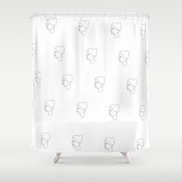 portrait II Shower Curtain