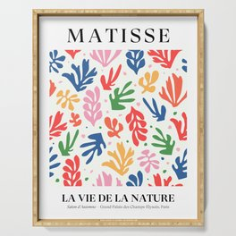 Nature Leaf Cut Outs | Henri Matisse Series Serving Tray