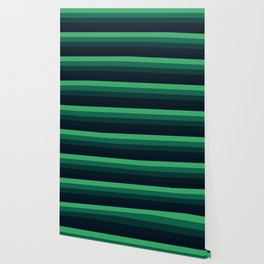 green stripes Wallpaper