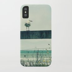 Sea gull iPhone X Slim Case