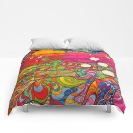 Psychedelic Art Comforters