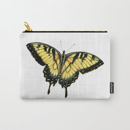 Realistic Tiger Swallowtail Butterfly Drawing Carry-All Pouch