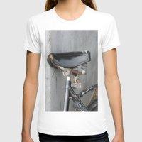 copenhagen T-shirts featuring Rusty bike Copenhagen by RMK Photography