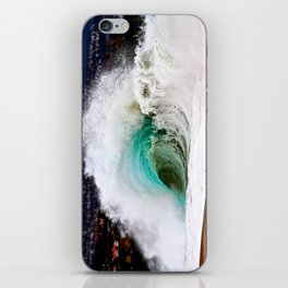 Waves - The Wedge Newport Beach CA iPhone Skin