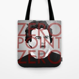 Zero Point Zero Tote Bag