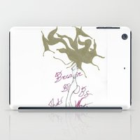 boobs iPad Cases featuring Because Boobs by Meagan Harman