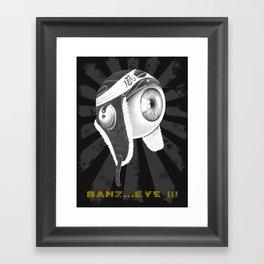 banz_eye !!! Framed Art Print