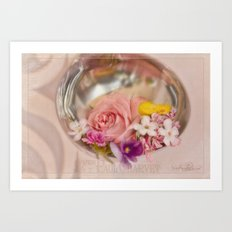 Ladled with Flowers  Art Print