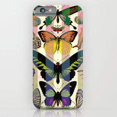 Papillons with Stripes Slim Case iPhone 6