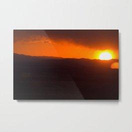 A Very Bozeman Sunset Metal Print