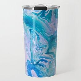 Bath Bomb Marble - Ocean Blue Travel Mug
