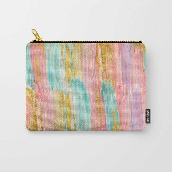 Gilded pastels Carry-All Pouch