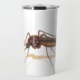 Mosquito by Lars Furtwaengler | Colored Pencil / Pastel Pencil | 2014 Travel Mug