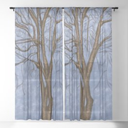 The Twisted Tree Sheer Curtain