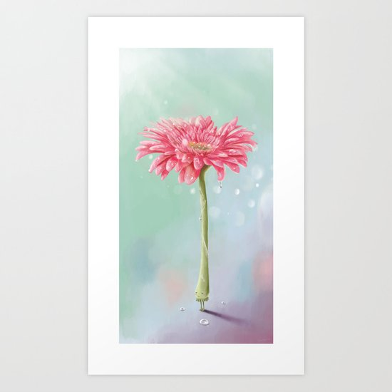 Dreams of Valentine Art Print