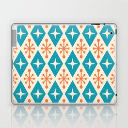 Mid Century Modern Atomic Triangle Pattern 107 Laptop & iPad Skin
