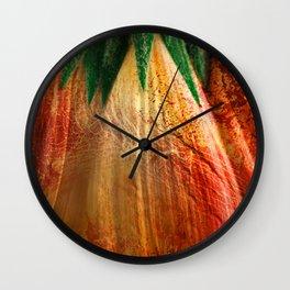 Bloody Grunge Daisy Wall Clock