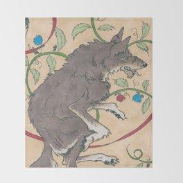 Spiel Mit Mir: Alphawolf Throw Blanket