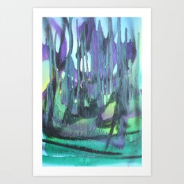 Abstractions in Nature 3 Art Print