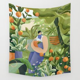 The Plant Nursery Wall Tapestry