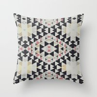 navajo Throw Pillows featuring navajo by spinL