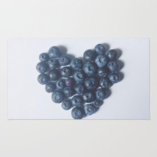 Blueberry Love Rug