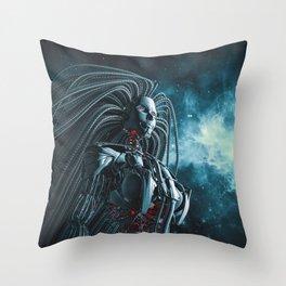 Beryllium Princess II Throw Pillow