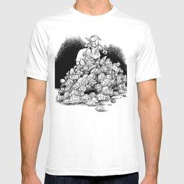 Bob the Squirrel atop Nut Mountain T-shirt