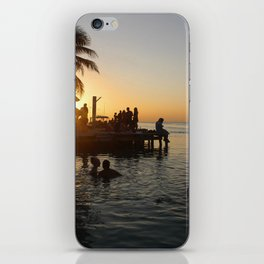 Caye Caulker Sunsets iPhone Skin