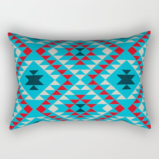Geometric tribal pattern Rectangular Pillow