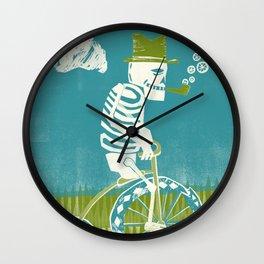 Se muere por las bicicletas Wall Clock