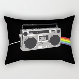 Dark Side of the Boombox Rectangular Pillow