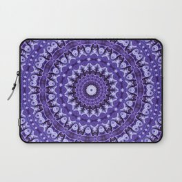 Kaleidoscope Purple Silk Laptop Sleeve