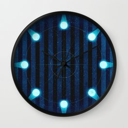 Sol System - Kuiper Belt Wall Clock
