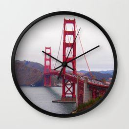 Golden Gate Cliff Wall Clock