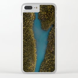 High tides in Cascavel , Brazil Clear iPhone Case
