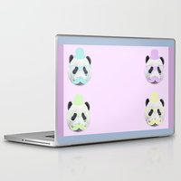gentleman Laptop & iPad Skins featuring Gentleman by Panda Cool
